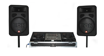 Party Audio Equipment Hire