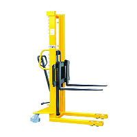 1000 kgs Hydraulic Stacker with Adjustable Forks