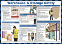 Warehouse Safety Health and Safety Poster