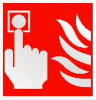 Fire Alarm Call Point - Health and Safety Sign (FEX.20)