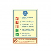 Fire Action- Fire Point - Fire Health and Safety Sign (ACT.05)