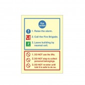 Fire Action - Fire Point - Fire Health and Safety Sign (ACT.11)