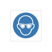 Eye Protection Must Be Worn - Health and Safety Sign (MAP.41)