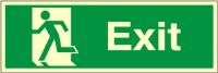 Exit Sign - Fire Safety Sign (EX.45)