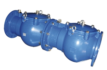 EC453/453 VERIFIABLE DOUBLE CHECK VALVE PN10 FLANGES 40mm - 250mm