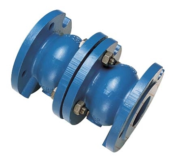 "402B/402 DOUBLE CHECK VALVE PN10 FLANGES 2"" - 16"""