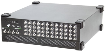 DigitizerNETBOX DN6 offers up to 48 ultra high speed signal capture channels and Ethernet connectivity