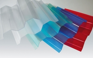 Specialist Profiled Multiwall Polycarbonate Sheet