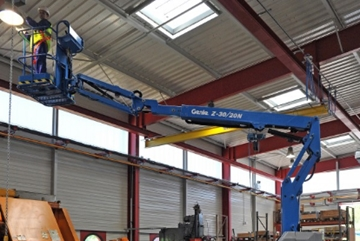11.14m Electric Articulated Boom Hire