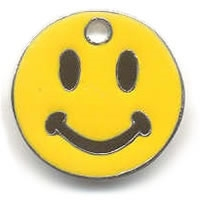 Trolley Coin Key Ring (Smiley)