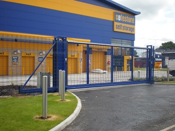 Automatic Sliding Security Gates (Up To 8.0m)