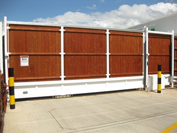 Automatic Sliding Security Gates (Up to 18m)