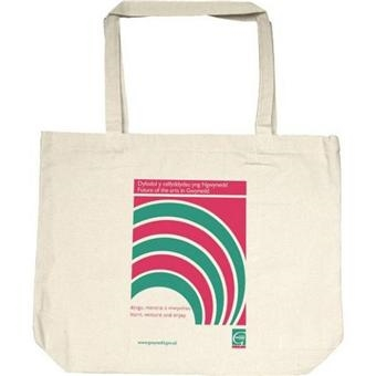 5007 Personalised Budget 110 gsm Cotton Shopping Bags and Conference Bags Logo Printed
