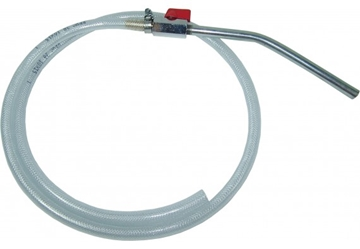 1.5mtr Outlet Hose, on/off vale and nozzle
