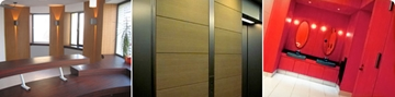 Graphic finishes & wraps for building interiors or exteriors