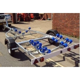 EXT1100 Swing Galvanized Boat Trailer