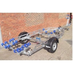 EXT1300 HD Swing Galvanized Boat Trailer