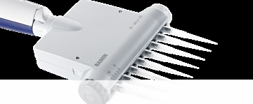 Adjustable-Spacer Multichannel Manual Pipettes