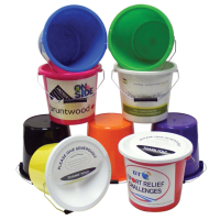Street Charity Collection Bucket