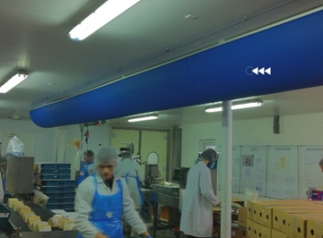 Ventilation Systems for the Food Industry