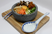Sizzling Rock Bibimbap- Dolsot Bowl- Korean Stone Bowl -1Litre