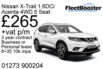 Nissan X-Trail 1.6DCi Acenta 4WD 5 Seat Lease