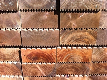 Railway Sleepers for Domestic Landscaping