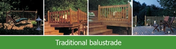 Traditional Softwood Balustrades