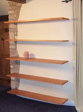 Concealed Bracket Shelves