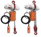 Delta Electric chain hoists 500 kg and 1000 kgs 110V/240V
