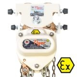 1000 kg Tiger spark resistant combination geared travel and chain block XCCBTGS-0100CP