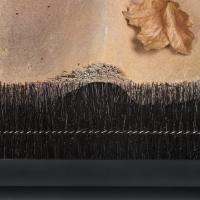 Internal Coiled Bristle and Hair Fill Brush Strips