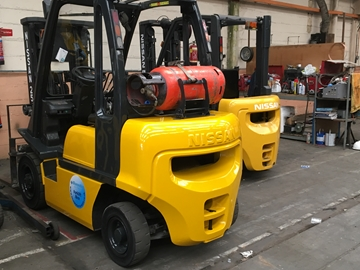 Gas Forklift Hire