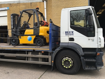 Hire of Forklift