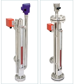 Combined Magnetic Level Gauge