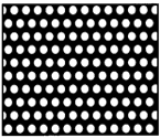2mm round holes Perforated Sheet