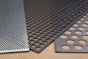 2.5M x 1.25M Perforated Sheets
