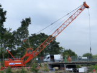 Fully hydraulic crawler cranes for rental