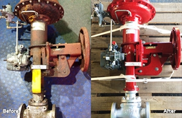 Fisher Valves and Equipment Repairs