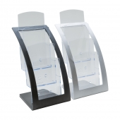 Contemporary Three Tier 1/3 A4 Leaflet Holder