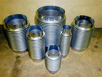 Bronze Expansion Joints & Hoses in Exotic Alloys