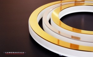 Iluminated yacht signs, from concept to manufacture