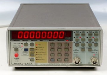 Counter Timer Electrical Calibration