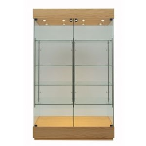 Double-bay Glass Trophy Cabinet