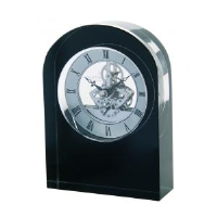Black Crystal Arch Clocks In Newcastle Upon Tyne