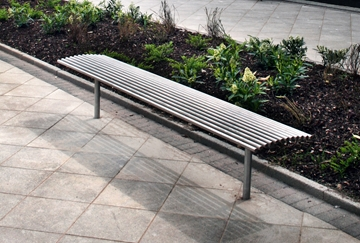 Hard Wearing Steel Benches