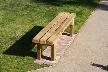 Natural Timber Benches