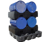 Spill Containment Drum Racks