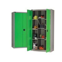 Budget 12 Compartment Steel Cupboard 65Kg Udl