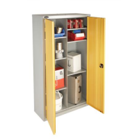 Budget 8 Compartment Steel Cupboard 65Kg Udl